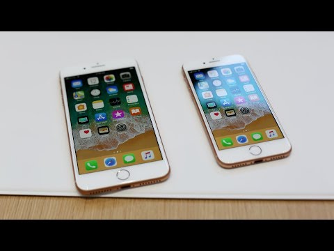 iPhone 8 and 8 Plus first look