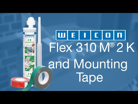 Install road sign, bonding instead of drilling | WEICON Flex 310® M 2 K & Mounting Tape