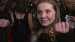 Juicy Couture Store Opening - Abigail Breslin, Actress (Little Miss Sunshine)