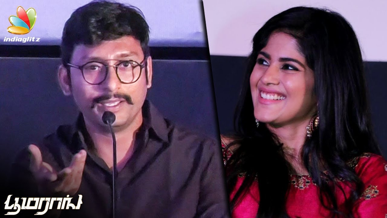 என்னோட LKG படத்துக்கு இவர்தான் காரணம் : RJ Balaji Speech   Boomerang Audio Launch   Trailer