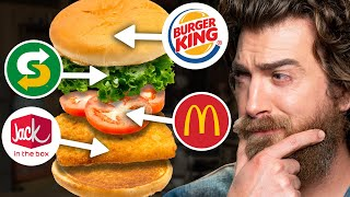 Can We Taste These Fast Food Swaps? (GAME)