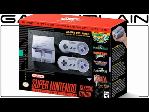 Super NES Classic Edition Announced! 21 Games +  STAR FOX 2 Built-In