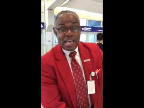American Airlines Employee Blows Us Away
