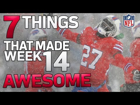 7 Things that made Week 14 AWESOME! ✨🌟    NFL Rush Highlights