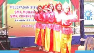 Tari melayu NIRMALA -SMA MUHAMMADIYAH DEMAK _ SMK PONTREN DEMAK