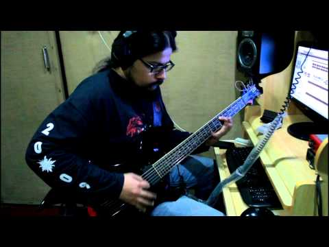Reptilian Death - Studio Sessions - Guitar Recording
