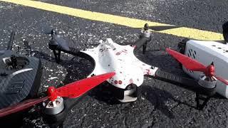 Blood Splattered F100 Ghost/Mjx Rc Bugs 3 - Fpv Flight!
