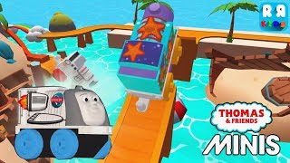 New Engine Space Spencer and New Track The Flash Splash - Thomas & Friends Minis
