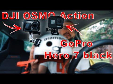 DJI OSMO Action vs. GoPro Hero 7 Black **TEST NA KOLOBĚŽCE**
