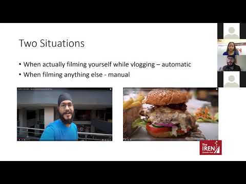 Master Class Basics of Videography & Storytelling