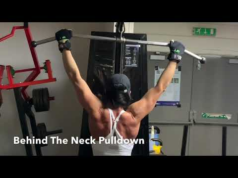 Behind the Neck Pulldown 2.0