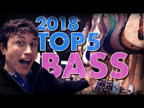 BASSLINE'S TOP 5 BASSES  - I 5 bassi più venduti del 2018