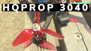 U199 3Inch FPV Drone FreeStyle /プロペラ変更!HQ3040