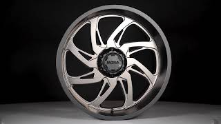 230 Villain Gloss Black with Milled Accents and Clear Coat - 24x12 video thumbnail