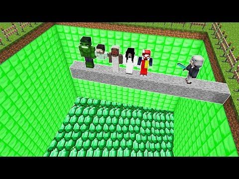 ÖLÜRSEN ZÜMRÜT HAVUZUNA DÜŞERSİN! ???? - Minecraft