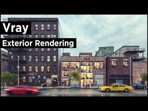3ds Max Vray Exterior Rendering (Best Tutorial)