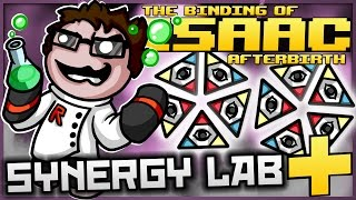 The Binding of Isaac: Afterbirth+ - Synergy Lab: ULTIMATE EYE OF THE STORM!