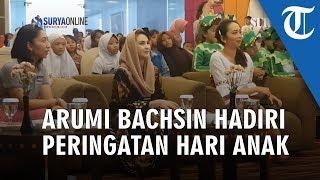 Istri Wagub Jatim Arumi Bachsin Hadiri Peringatan Hari Anak Nasional