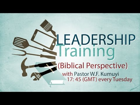 Leadership Meeting with Pastor W.F Kumuyi
