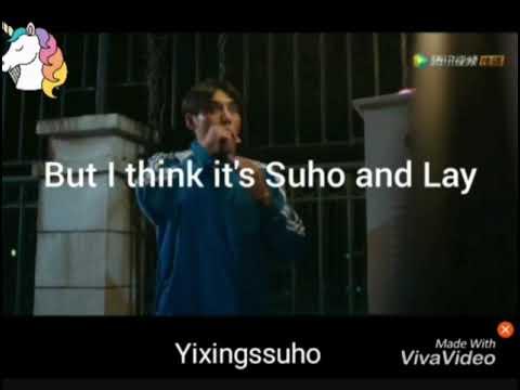 Exo Lay×Suho kissing scene. Exo Lay