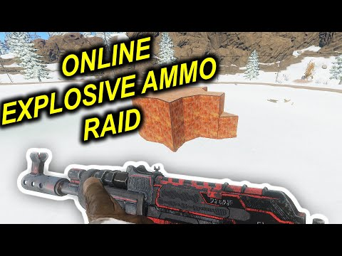RUST|RAID WITH EXPLOSIVE AMMO|ONLINE - смотреть онлайн на