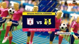 America Vs. Alianza Petrolera (Resumen Y Mejores Momentos)  Liga Aguila 2019-II | Fecha 1