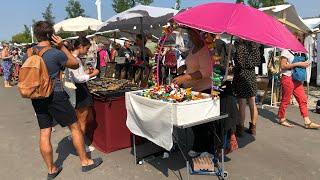 Лучший блошиный рынок Берлина в Пренцлауберге