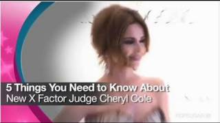 5 Things You Need to Know About New X-Factor Judge Cheryl Cole