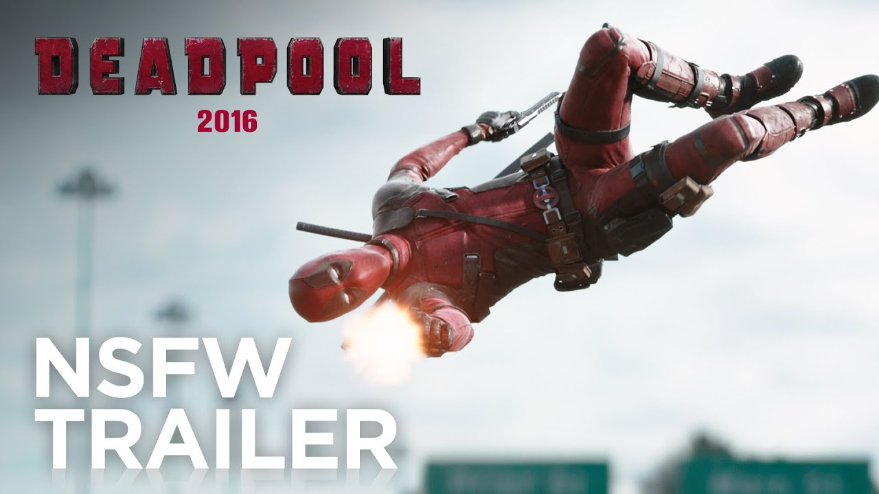 Red Band Movie Trailer:  Deadpool (2016)