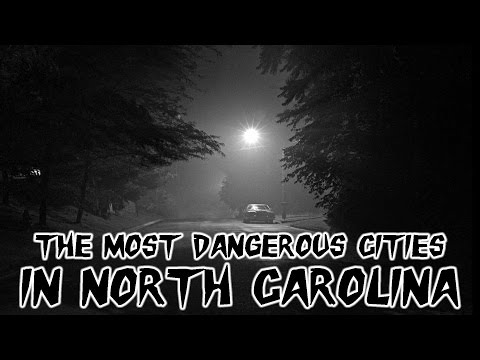 Video The 10 Most Dangerous Cities in North Carolina Explained