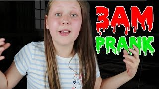 PRANKING RUBY RUBE AT 3AM!! OMG SO SCARY!!