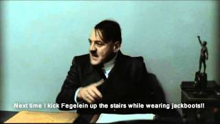 Hitler and the stairs