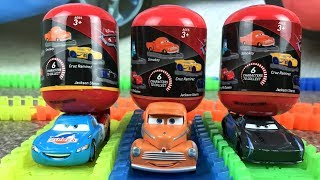 Cars 3 Lightning Mcqueen Surprises - Race toys Cars Video Toy for Children