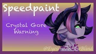 Spineless - Crystal Gore Speedpaint