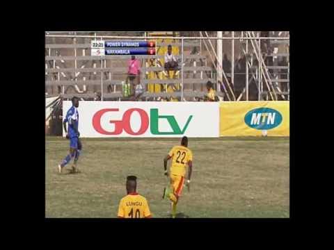 Derick Mwansa Power Vs Nakambala FC 2015