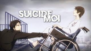 AMV Nightcore   Suicide Moi (Lekden) (Lyrics)