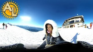 360 градусов: Роза Пик 2320 м | Вершина Роза Хутор | Sochi Rosa Khutor
