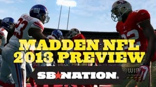Madden NFL 2013 demo, gameplay and preview thumbnail