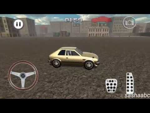 classic car parking 3D обзор игры андроид game rewiew android