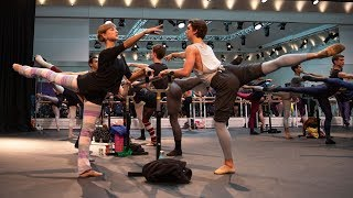 The Royal Ballet Morning Class In Full - World Ballet Day 2018