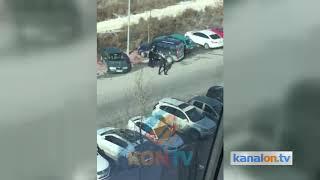 Konya'da lise öğrencilerinin dehşete düşüren kavgası! İşte o anlar