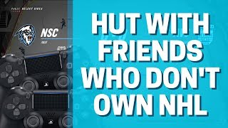 NHL 19 HUT Let Your Friends Play for Free