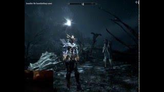 Elder Scrolls V Skyrim: сражение с древним драконом на легендарном уровне