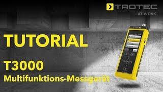 Tutorial - T3000 Multifunktions-Messgerät