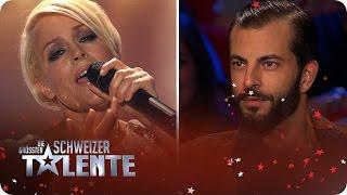 DSDS Jurorin Michelle Singt Paris Vor Der Jury Von Die Grössten Schweizer Talente   #srfdgst