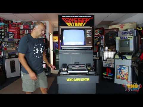 Magnavox Odyssey 2 Kiosk Trade-N-Games Kiosk collection