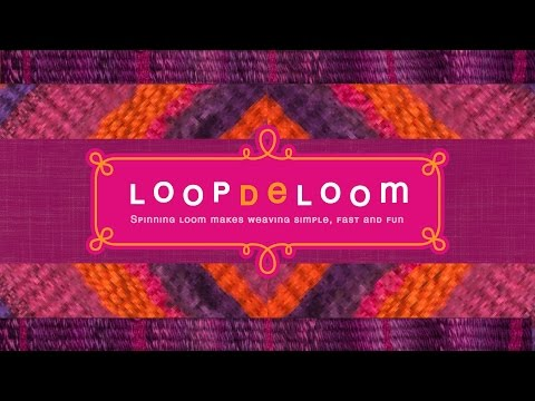 LoopDeLoom - Weaving Loom Kit