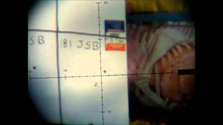 Benjamin Discovery JSB 15.9 gr  vs  18.1 gr  at 70 Yards Boyds Gunstock
