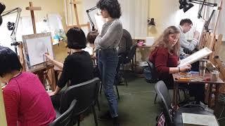 Курсы рисования для взрослых в Киеве 18 01 2018