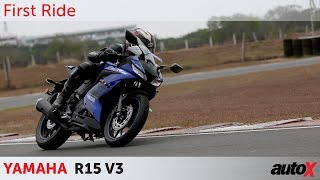 Yamaha R15 V3 Review | First Ride | autoX